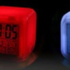 alarm clock head of dead with 7 colors changing accessory head of death