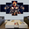 board head of dead biker skull format xxl with frame at sell
