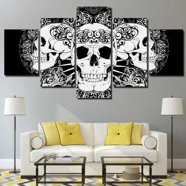 board head of dead black and white format xxl with frame at sell
