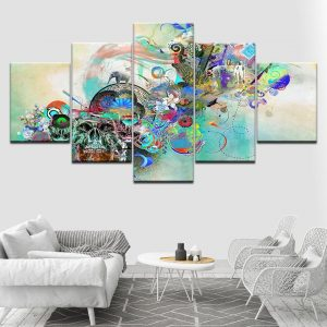 board head of dead canvas art format xxl with frame price