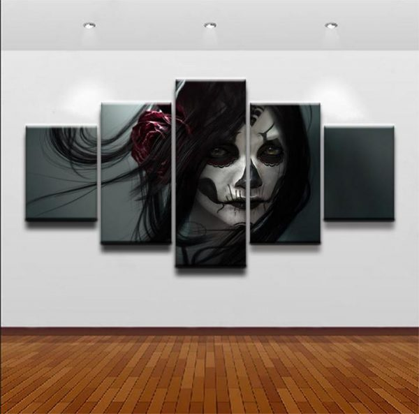 board head of dead gothic romantic format xxl with frame