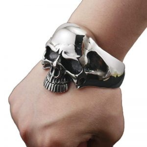 bracelet head of dead cuff steel buy