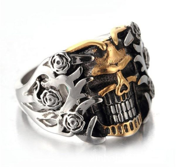 bracelet head of dead hand of skeleton bracelet head of death