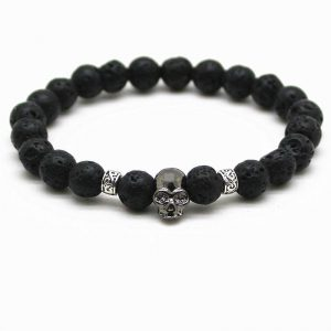 bracelet head of dead skull death