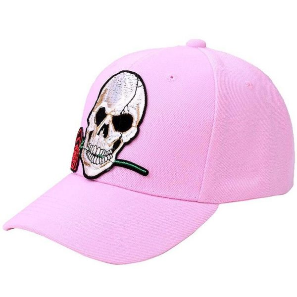 cap head of dead for man and women 3 colors pink at sell