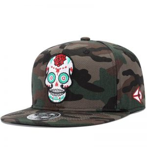 cap head of dead mexican skull kingdom