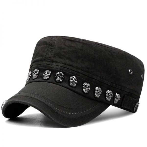 cap head of dead skull military not dear