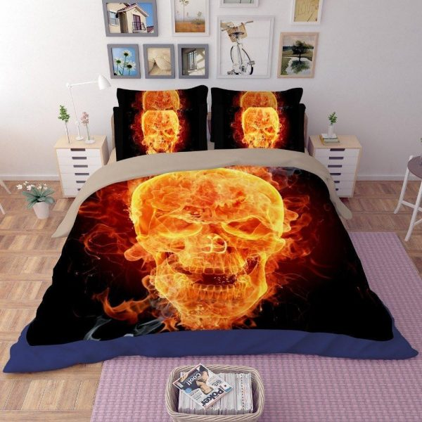 cover of quilt head of dead flame great king had 240x260cm
