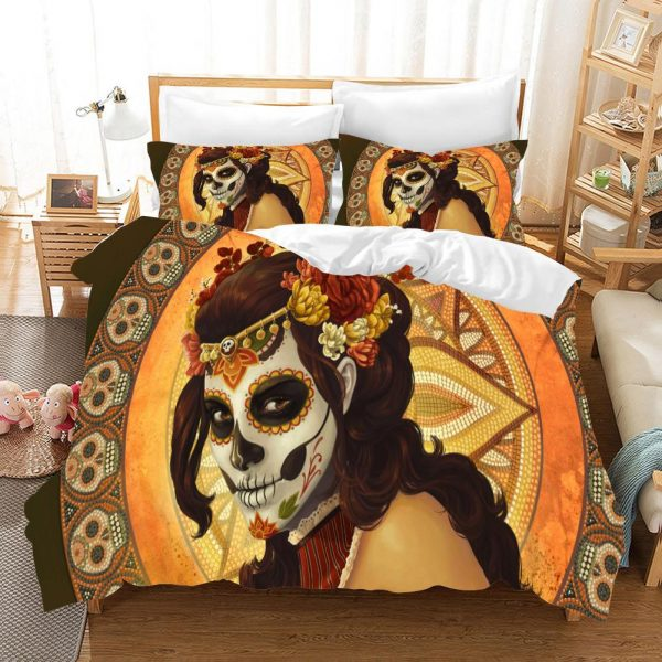 cover of quilt head of dead the catrina great king had 240x260cm at sell