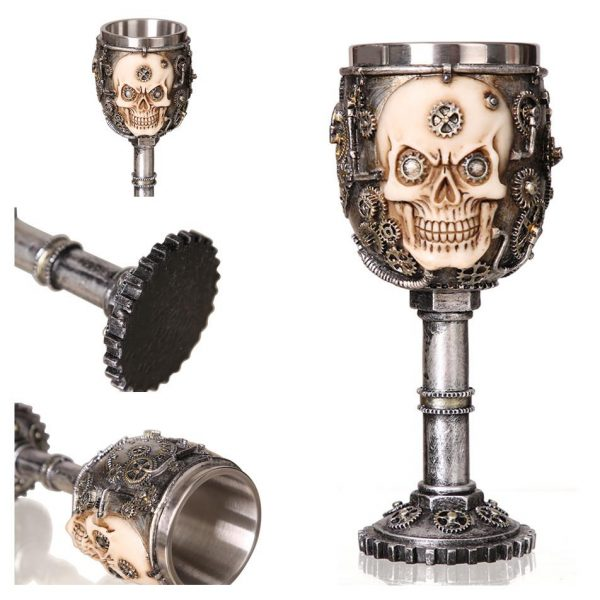cup head of dead steampunk