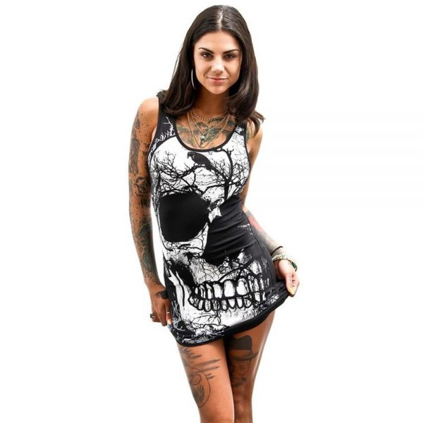 dress head of dead with raven vintage xl price
