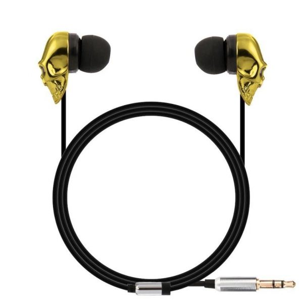 earphones head of dead intra auriculars white at sell