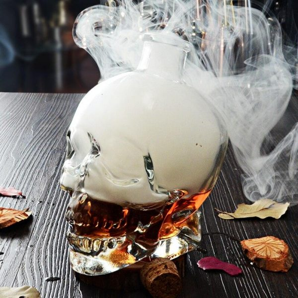 glass head of dead carafe at whiskey 750ml buy
