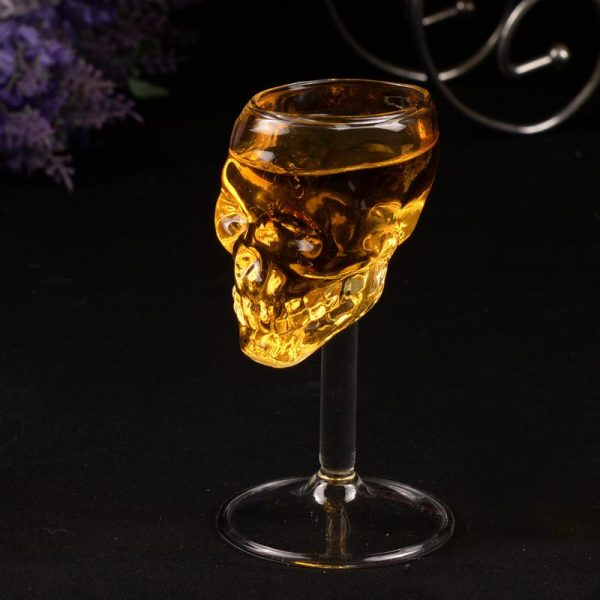 glass head of dead with foot buy