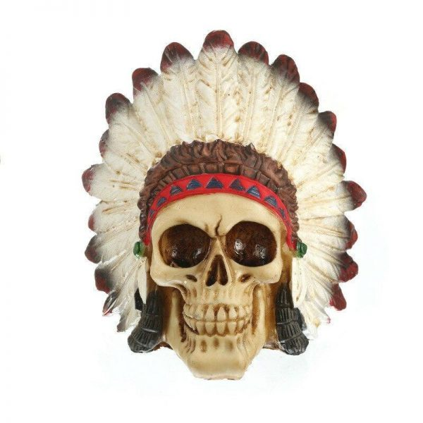head of dead indian