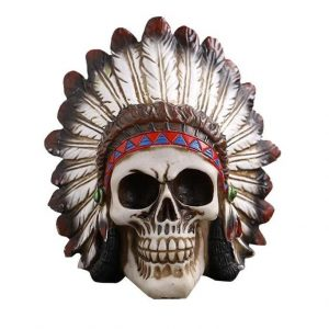 head of dead skull indian skull kingdom