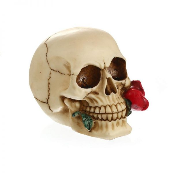head of dead with pink 4 roses buy