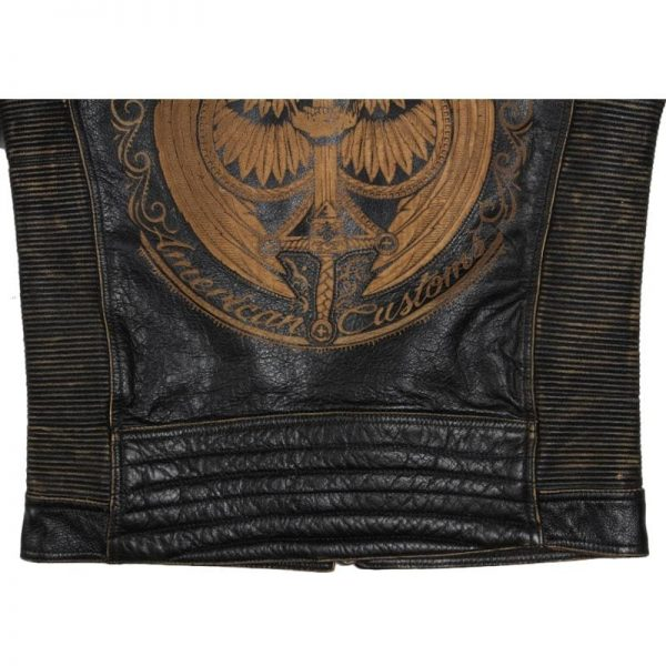 jacket head of dead as of spades leather xl