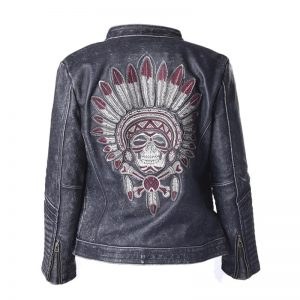 jacket head of dead chief indian leather xl buy