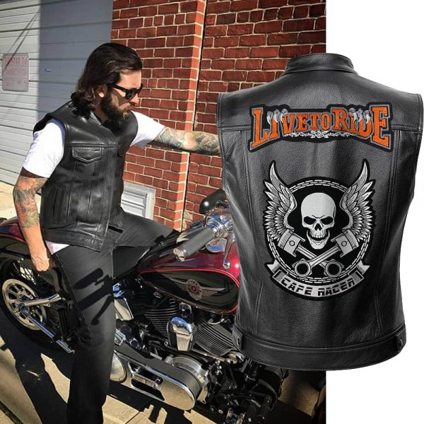 jacket head of dead live to wrinkled xxl at sell