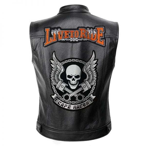 jacket head of dead live to wrinkled xxl jacket head of death