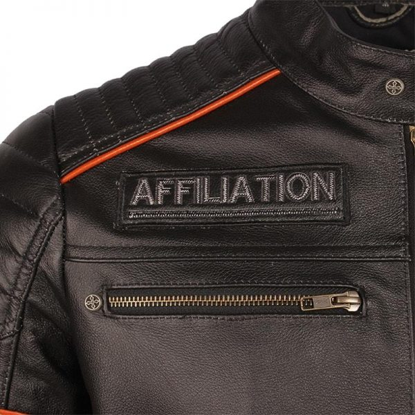 jacket head of dead mind biker leather xxl