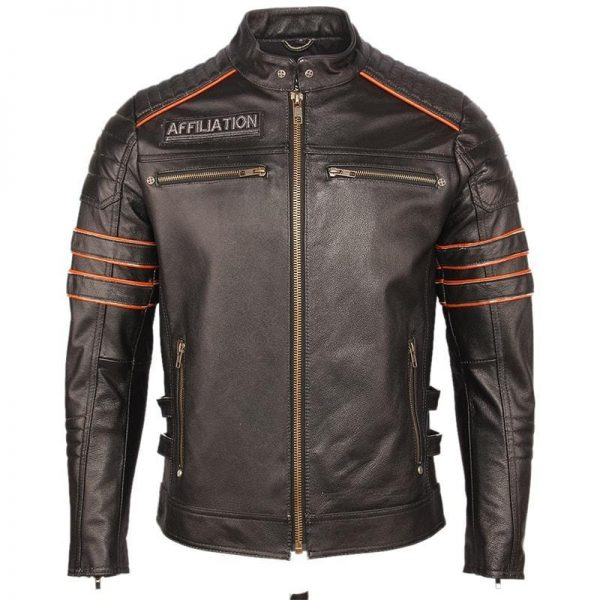 jacket head of dead mind biker leather xxl buy