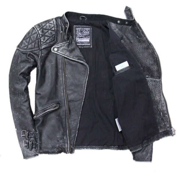 jacket head of dead skull and bones leather xl price