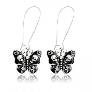 loops ears head of dead butterfly black buy