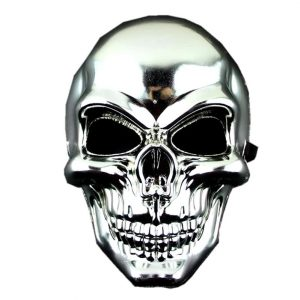 mask head of dead halloween purple accessory head of death