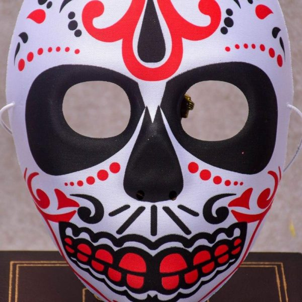 mask head of dead mexican black yellow price