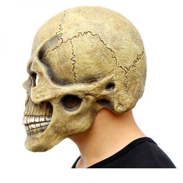 mask head of dead skull scary mask head of death
