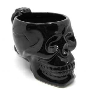 mug head of dead skull black buy