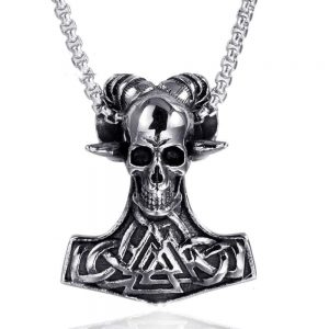 necklace head of dead hammer of thor not dear