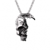 necklace head of dead skull smashed not dear