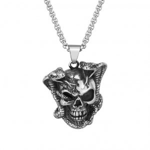 necklace head of dead snake venomous buy