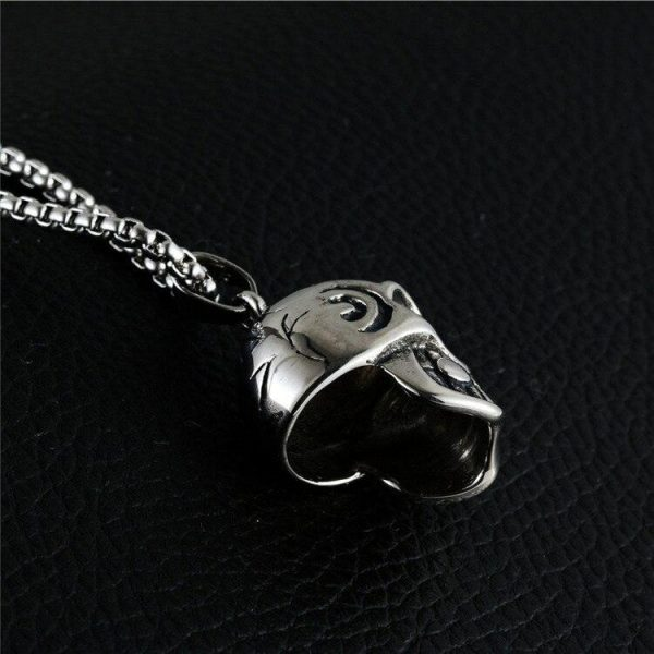 necklace head of dead the godfather skull kingdom