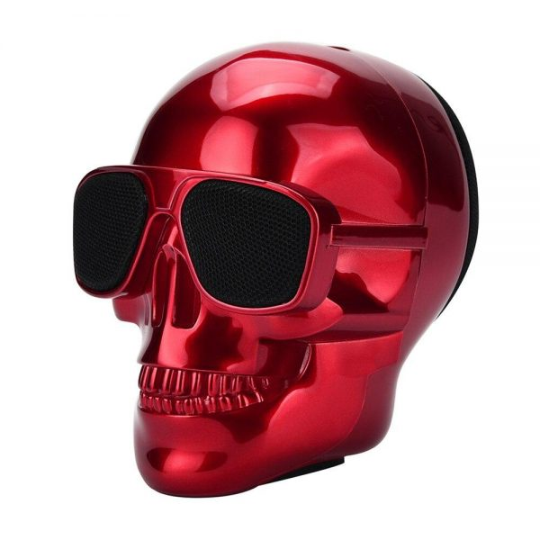 pregnant head of dead bluetooth portable red