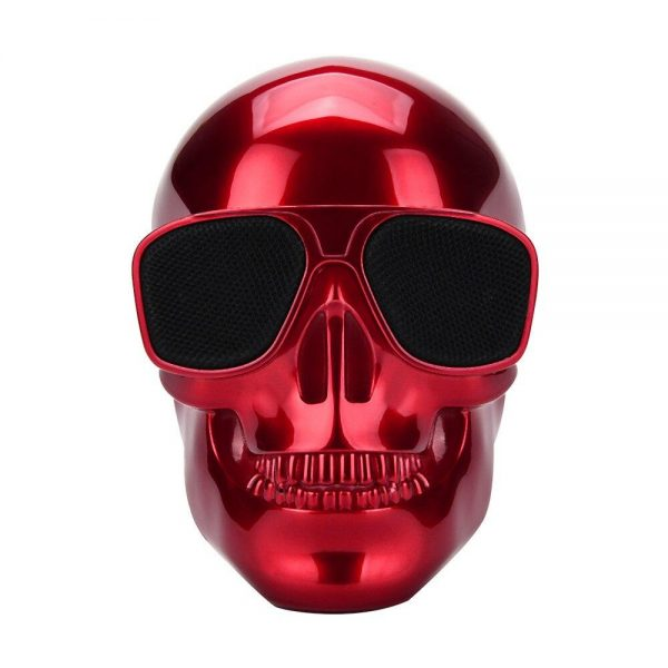 pregnant head of dead bluetooth portable red accessory head of death