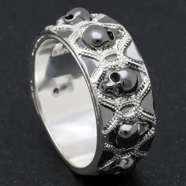 ring head of dead alliance 13 69 5mm silver price