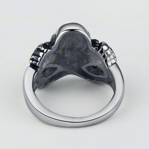 ring head of dead arms crusaders steel 70 black price