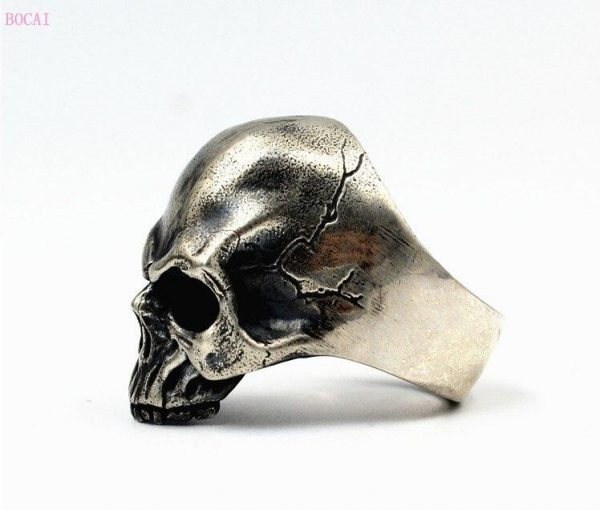 ring head of dead authentic skull money 69 no dear