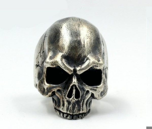 ring head of dead authentic skull money 69 skull kingdom