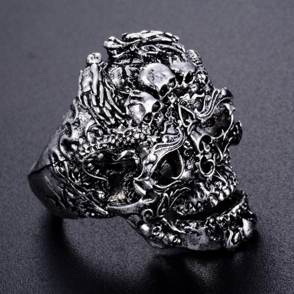 ring head of dead biker damn steel 70 or price