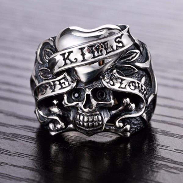 ring head of dead biker love money 70 price