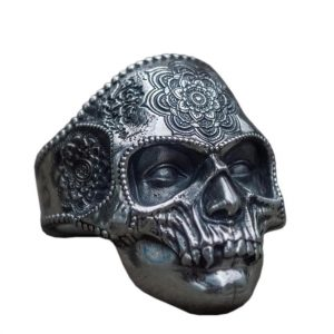 ring head of dead calavera mexico 15 75 mm