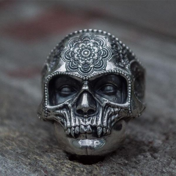 ring head of dead calavera mexico 15 75 mm at sell