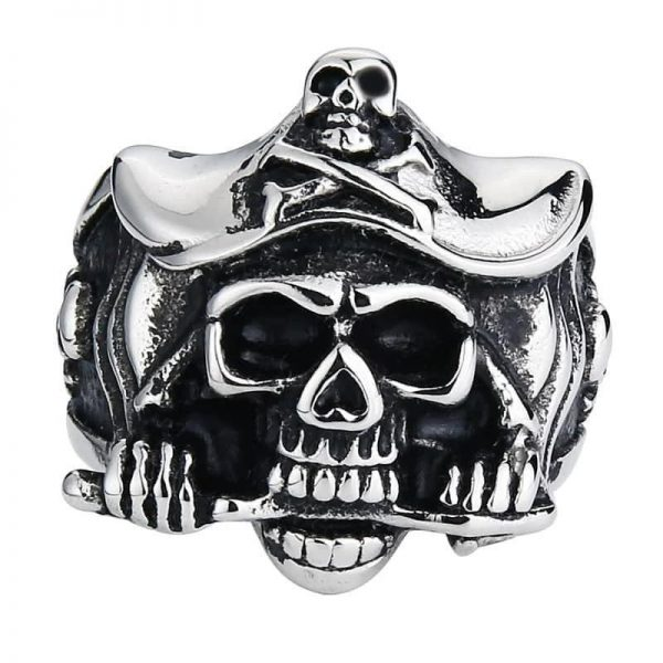 ring head of dead captain pirate 15 75 mm gold buy