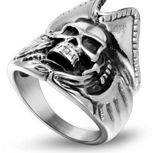 ring head of dead captain pirate steel 67 price