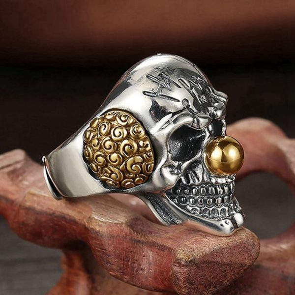 ring head of dead clown laughing steel 72 buy